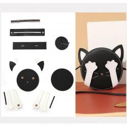 """Kit sac DIY - La pochette """"Mon Chat"""" - Noir"""
