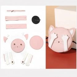 """Kit sac DIY - La pochette """"Mon Chat"""" - Rose"""