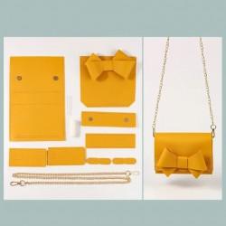 "Kit sac DIY ""Le Papillon"" - Jaune"